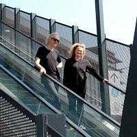 Tim Humphrey and Madeleine Flynn