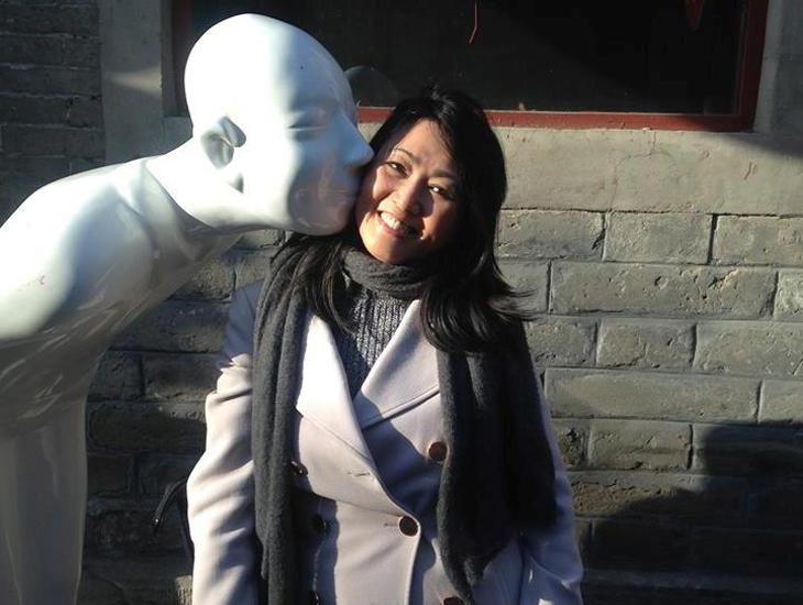 Zhiling Gao in Beijing
