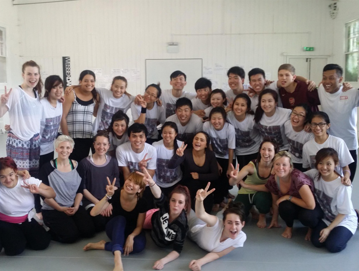 Singapore Youth Arts Overseas Attachment Programme group image