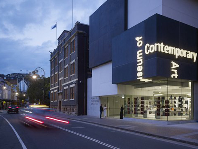 Australia Exterior of the new MCA from George Street Image courtesy and © the Museum