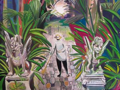 Rob McHaffie, Detail of Artwork, Malaysia, 2011.