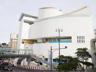 Bangkok Art and Culture Centre Image courtesy Wikimedia Commons taken by Cysh2K