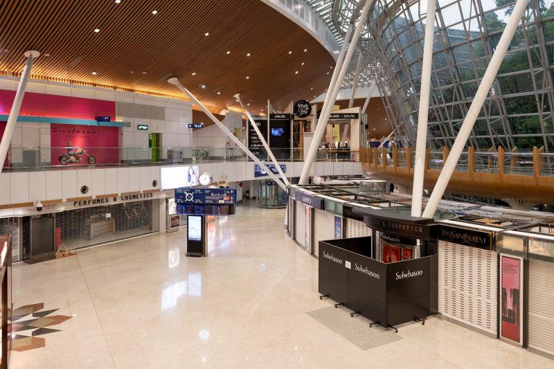 Deserted KL airport