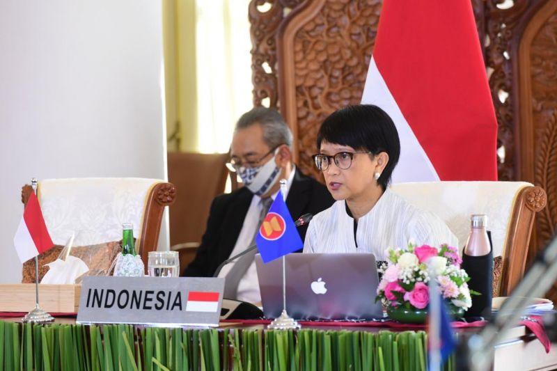 Indonesian FM Retno Marsudi speaks at recent ASEAN-US Summit