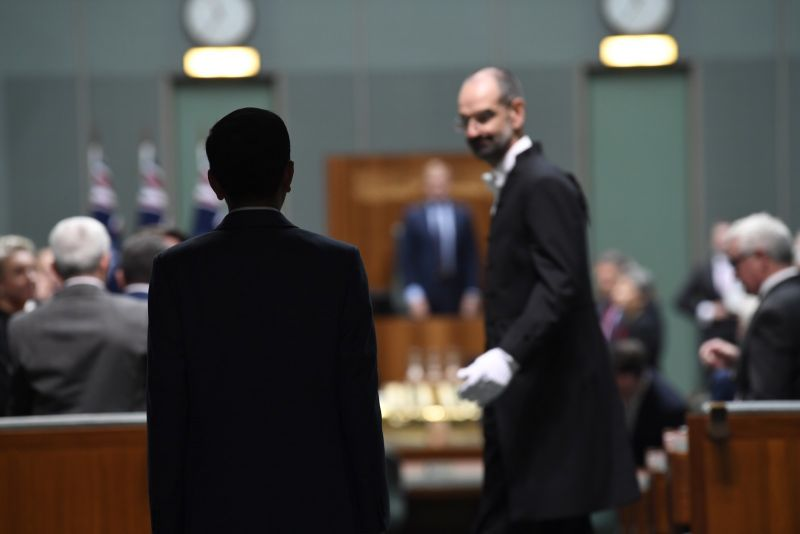 Widodo entering parliament 2020