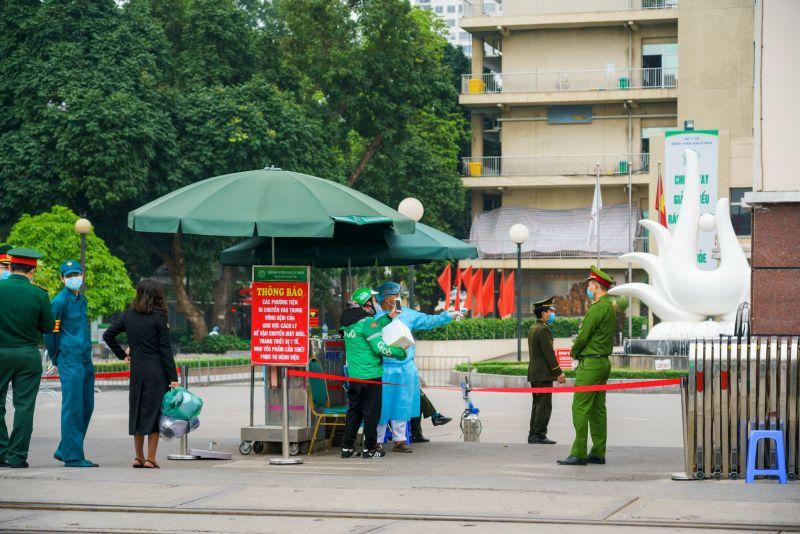 Hanoi hospital entrance