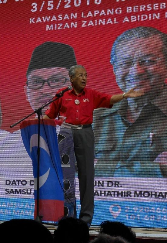 Mahathir 2018
