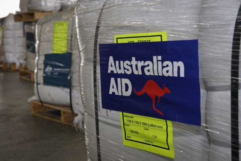 AusAID pallets