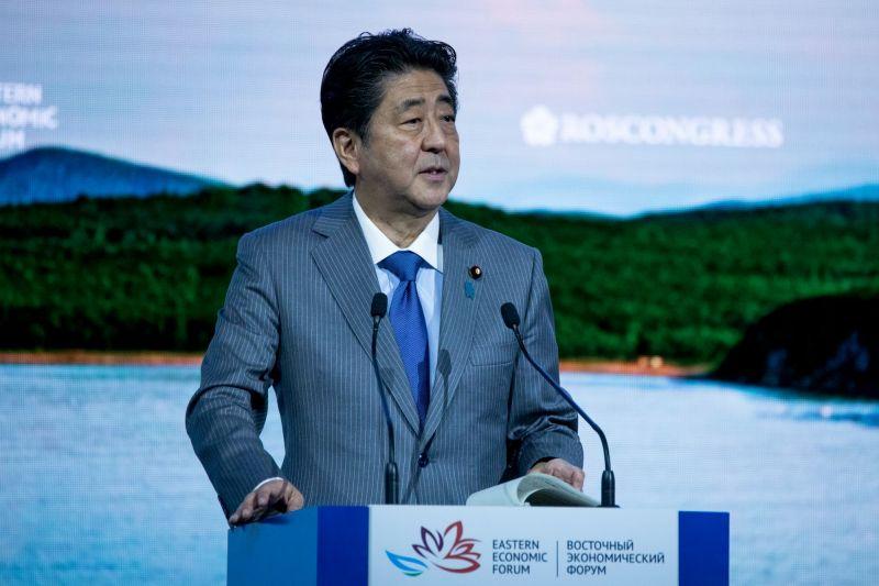 Former Japan PM Shinzo Abe