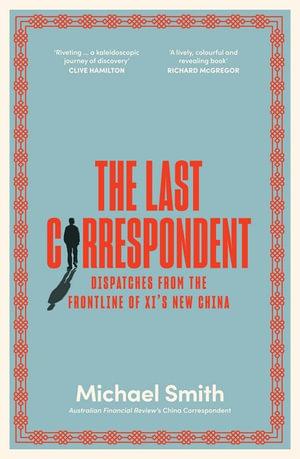 the last correspondent cover