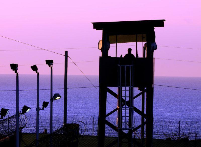 Watchtower at Guantanamo Bay, Cuba
