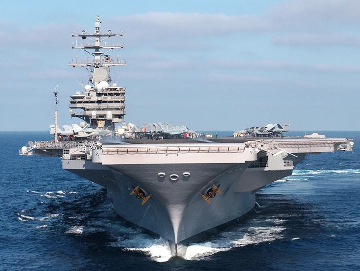 USS Ronald Regan