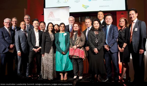 at the Asian-Australian Leadership Summit