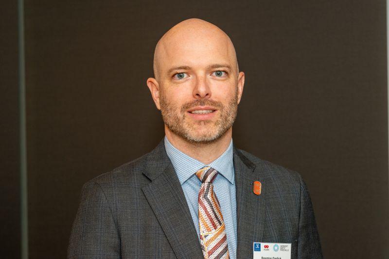 Mr Brenton Garlick, 2021 Asialink Leaders Program First Nations Fellow.