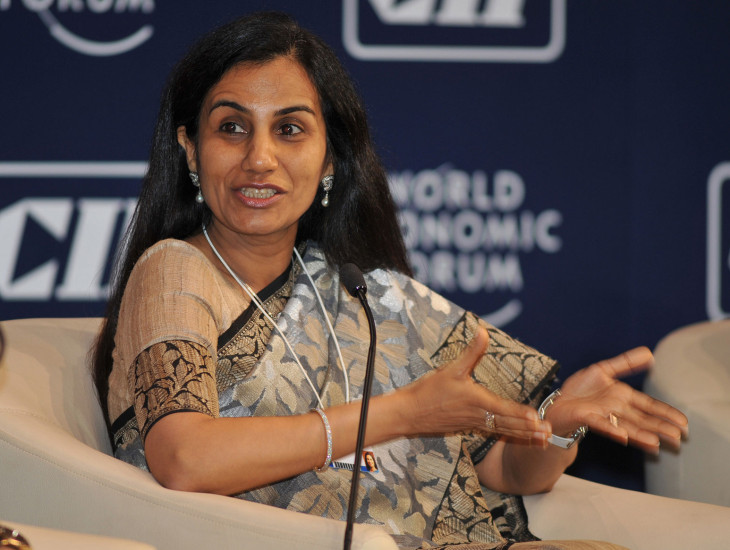 Chanda Kochhar at India Economic Summit