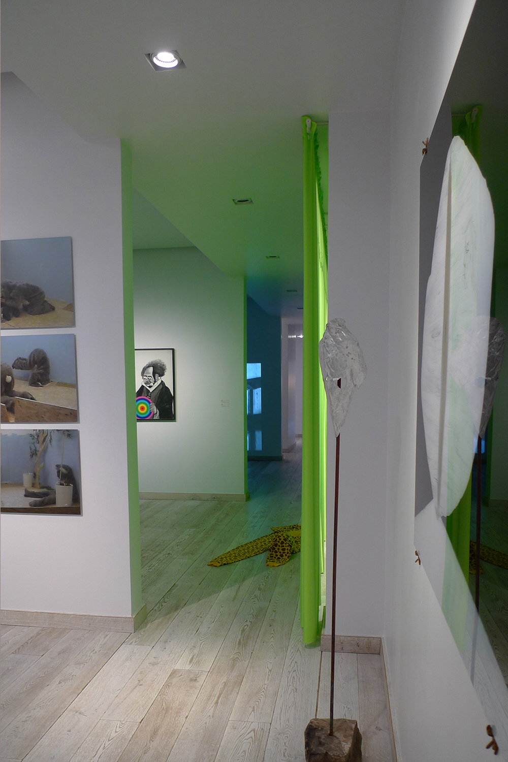 Neverwhere installed at Gaia Gallery, Istanbul