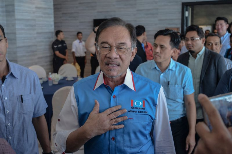 Anwar Ibrahim 2019